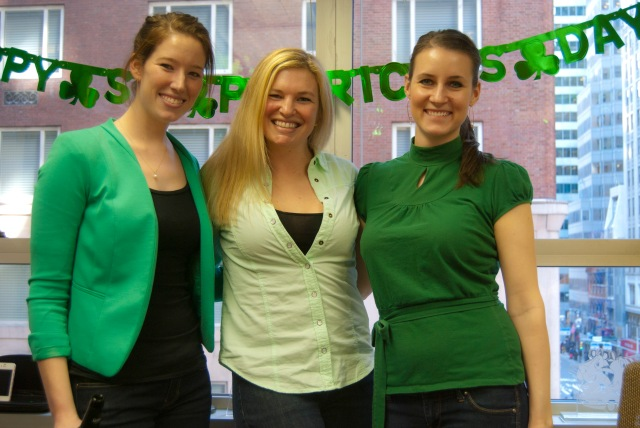 Ladies in Green