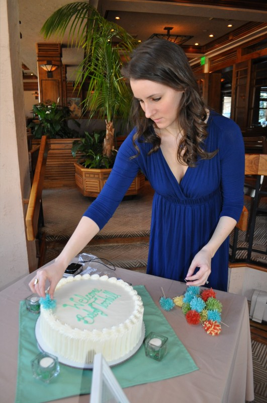 Jess Shower Cake