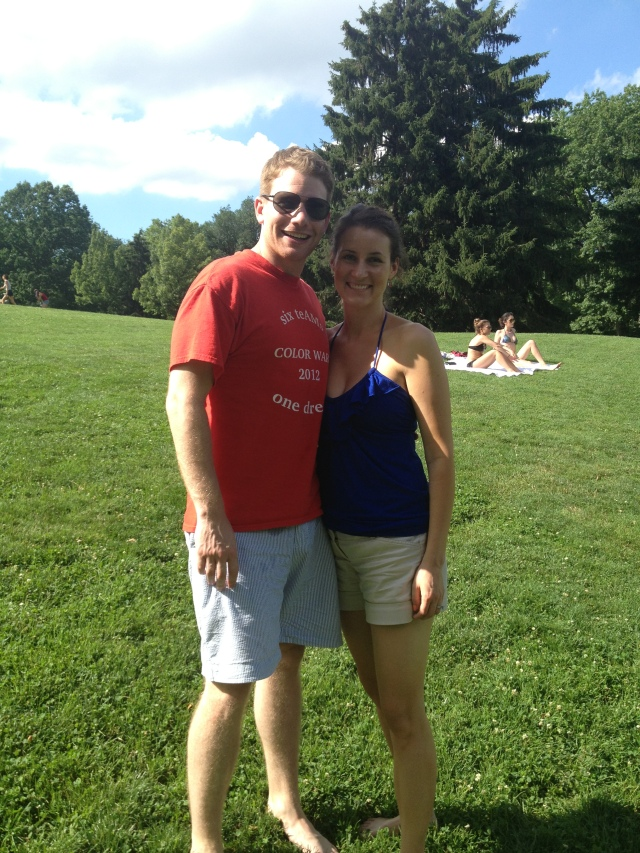 Fourth of July Scott and Becca