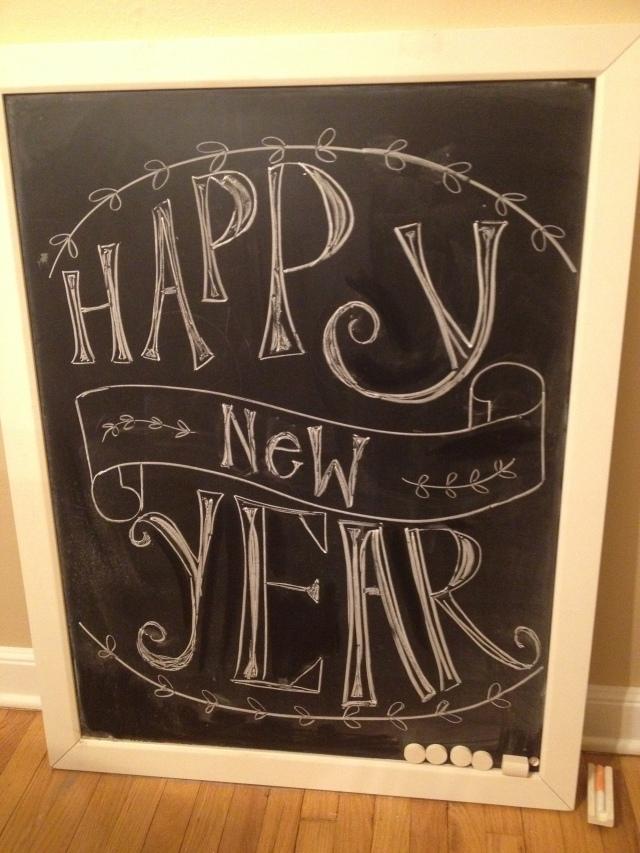 NYE14 Chalkboard